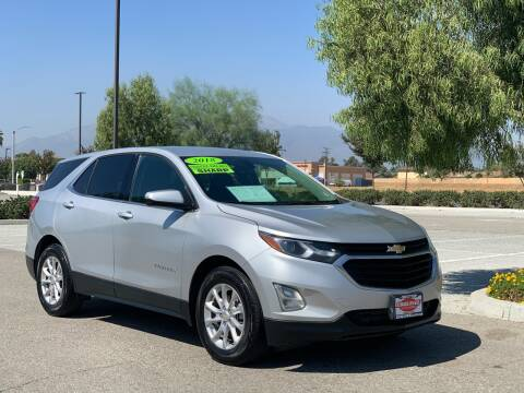 2018 Chevrolet Equinox for sale at Esquivel Auto Depot in Rialto CA