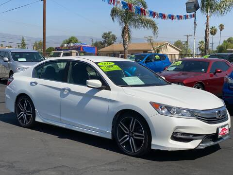 2016 Honda Accord for sale at Esquivel Auto Depot in Rialto CA