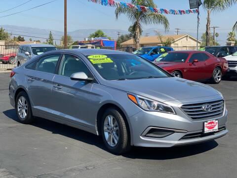 2017 Hyundai Sonata for sale at Esquivel Auto Depot in Rialto CA
