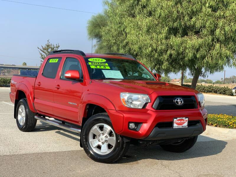 2014 Toyota Tacoma for sale at Esquivel Auto Depot in Rialto CA
