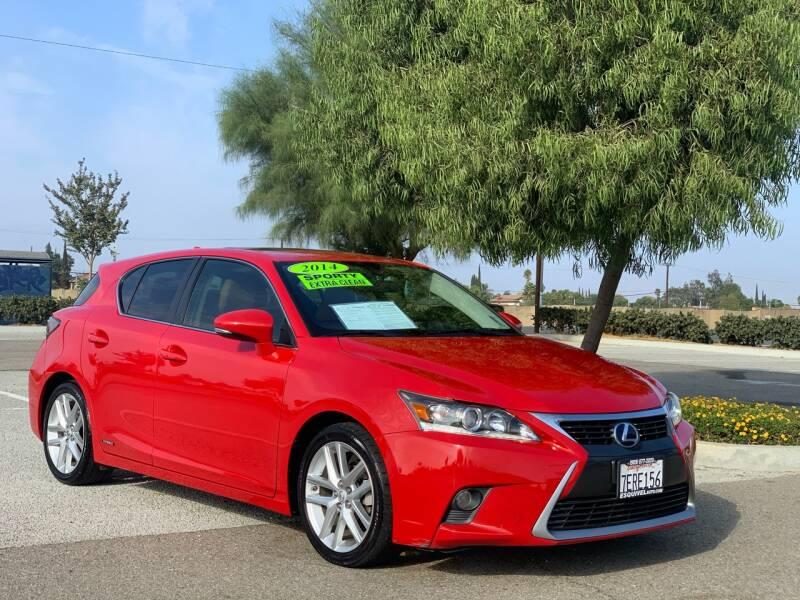 2014 Lexus CT 200h for sale at Esquivel Auto Depot in Rialto CA