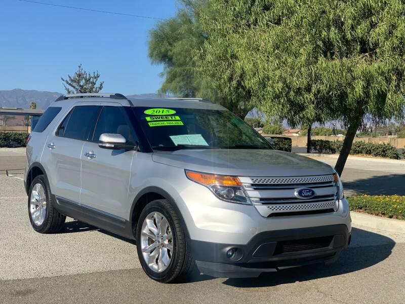 2015 Ford Explorer for sale at Esquivel Auto Depot in Rialto CA
