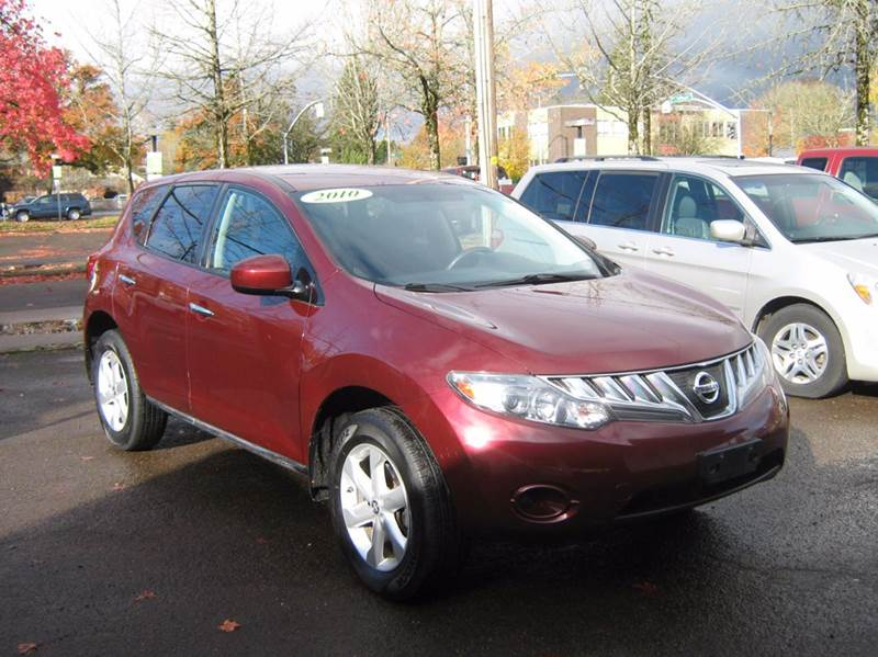 2010 Nissan Murano for sale at D & M Auto Sales in Corvallis OR