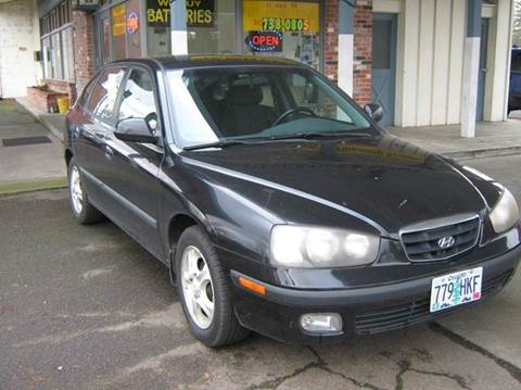 2003 Hyundai Elantra for sale at D & M Auto Sales in Corvallis OR