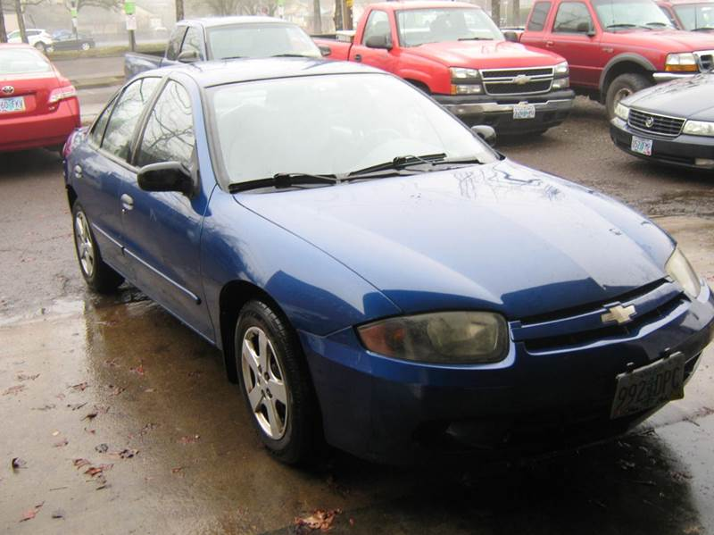 2004 Chevrolet Cavalier for sale at D & M Auto Sales in Corvallis OR
