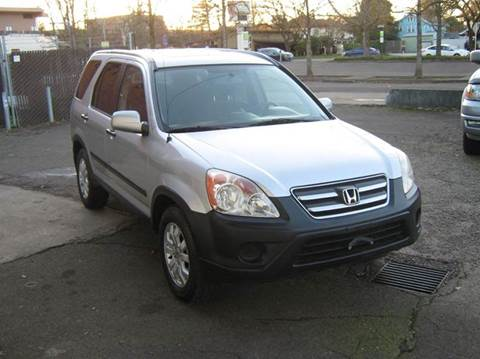 2006 Honda CR-V for sale at D & M Auto Sales in Corvallis OR