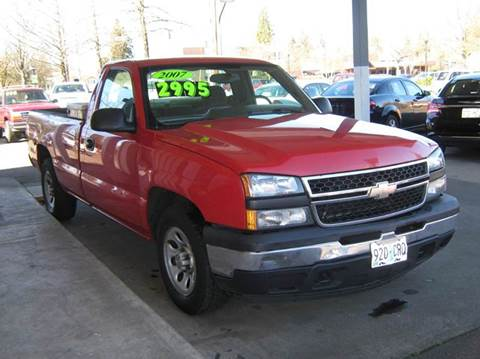 2007 Chevrolet Silverado 1500 for sale at D & M Auto Sales in Corvallis OR