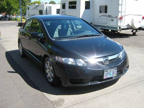 2010 Honda Civic for sale at D & M Auto Sales in Corvallis OR