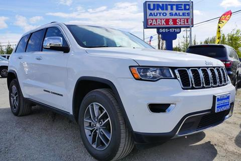 2017 Jeep Grand Cherokee for sale at United Auto Sales in Anchorage AK
