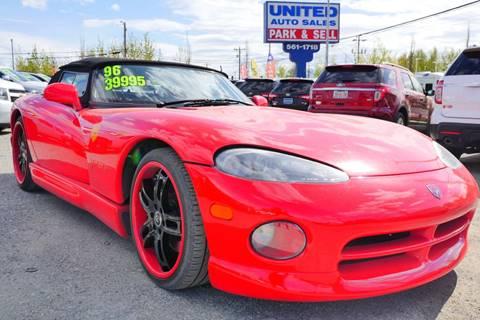 1996 Dodge Viper for sale at United Auto Sales in Anchorage AK