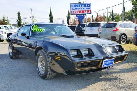 1980 Pontiac Trans Am for sale at United Auto Sales in Anchorage AK