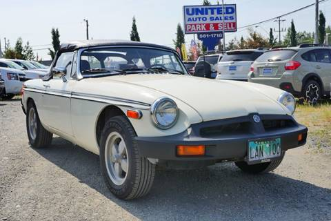 1979 MG MGB for sale in Anchorage, AK