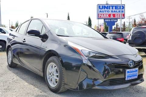 2017 Toyota Prius for sale at United Auto Sales in Anchorage AK