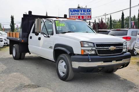 2007 Chevrolet Silverado 3500 CC Classic for sale in Anchorage, AK