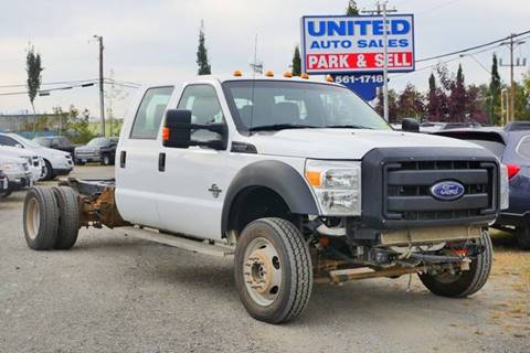 2012 Ford F-550 Super Duty for sale in Anchorage, AK