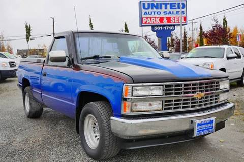 1991 Chevrolet C/K 1500 Series for sale at United Auto Sales in Anchorage AK