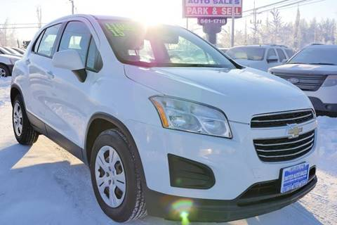 2015 Chevrolet Trax LS for sale at United Auto Sales in Anchorage AK
