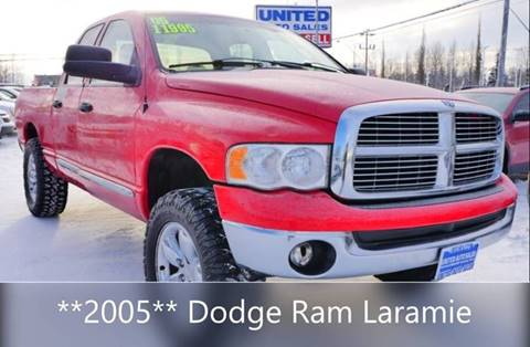 2005 Dodge Ram Pickup 1500 Laramie for sale at United Auto Sales in Anchorage AK