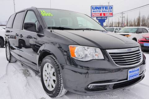 2014 Chrysler Town and Country Touring for sale at United Auto Sales in Anchorage AK