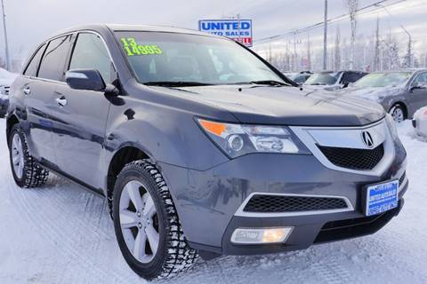 2013 Acura MDX SH-AWD for sale at United Auto Sales in Anchorage AK