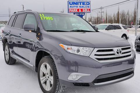 2011 Toyota Highlander Limited for sale at United Auto Sales in Anchorage AK