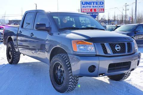2014 Nissan Titan for sale at United Auto Sales in Anchorage AK