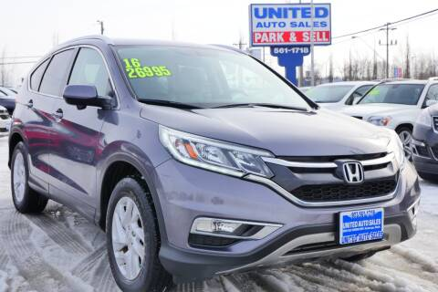 2016 Honda CR-V for sale at United Auto Sales in Anchorage AK