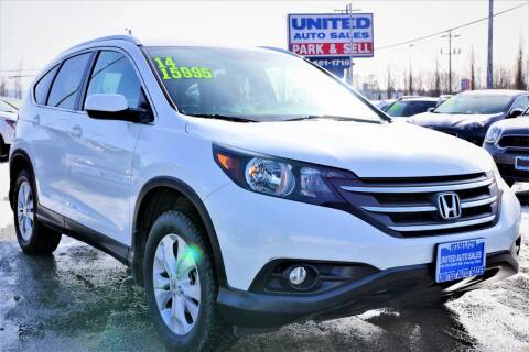 2014 Honda CR-V for sale at United Auto Sales in Anchorage AK