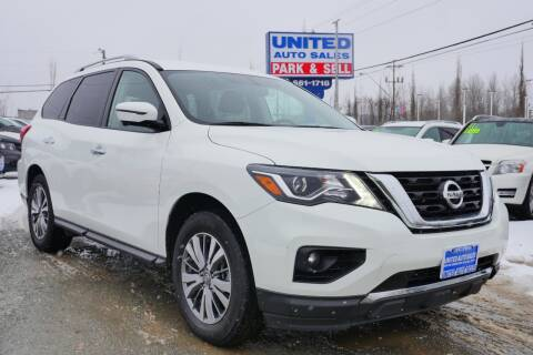 2019 Nissan Pathfinder for sale at United Auto Sales in Anchorage AK