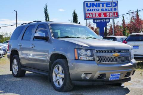 2012 Chevrolet Tahoe for sale at United Auto Sales in Anchorage AK