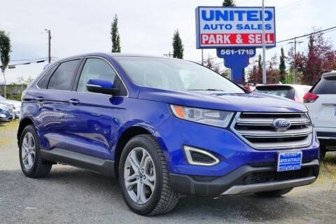 2015 Ford Edge for sale at United Auto Sales in Anchorage AK