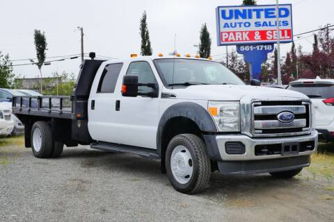 2012 Ford F-450 Super Duty for sale at United Auto Sales in Anchorage AK