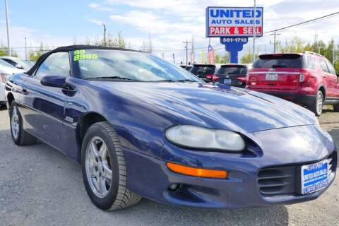 1999 Chevrolet Camaro for sale at United Auto Sales in Anchorage AK