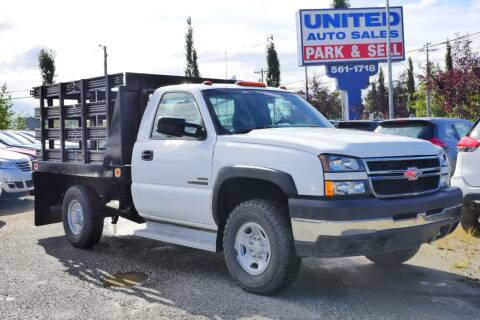 2007 Chevrolet Silverado 2500HD Classic for sale at United Auto Sales in Anchorage AK
