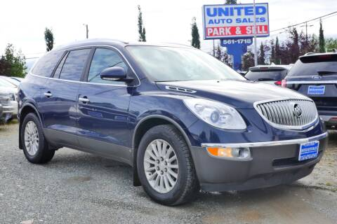 2008 Buick Enclave for sale at United Auto Sales in Anchorage AK