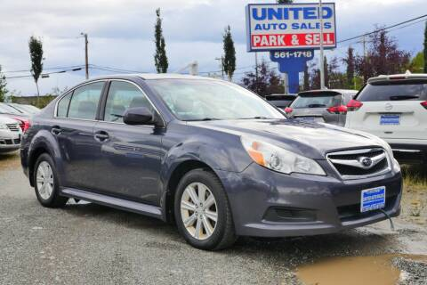 2012 Subaru Legacy for sale at United Auto Sales in Anchorage AK