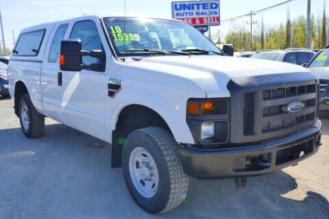 2010 Ford F-250 Super Duty for sale at United Auto Sales in Anchorage AK