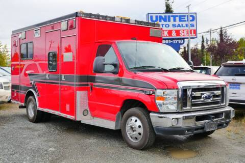 2009 Ford E-Series Chassis for sale at United Auto Sales in Anchorage AK