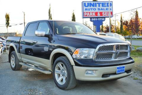 2012 RAM Ram Pickup 1500 for sale at United Auto Sales in Anchorage AK