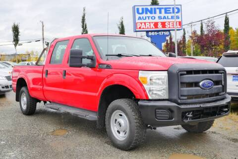 2013 Ford F-250 Super Duty for sale at United Auto Sales in Anchorage AK