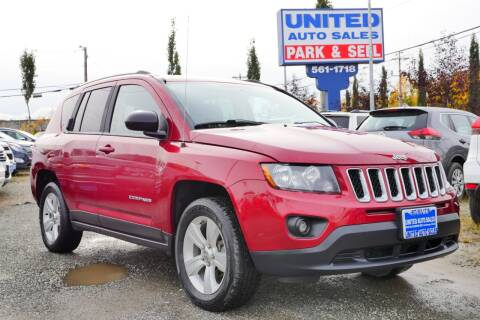 2014 Jeep Compass for sale at United Auto Sales in Anchorage AK