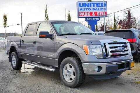 2012 Ford F-150 for sale at United Auto Sales in Anchorage AK