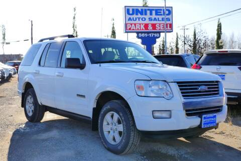 2008 Ford Explorer for sale at United Auto Sales in Anchorage AK