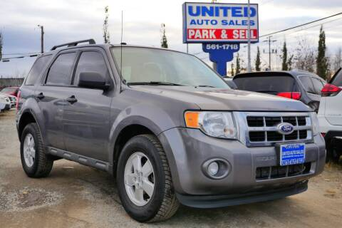 2011 Ford Escape for sale at United Auto Sales in Anchorage AK
