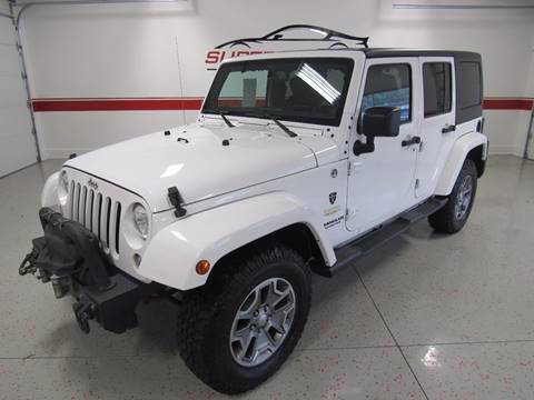 2014 Jeep Wrangler Unlimited for sale at Superior Auto Sales in New Windsor NY