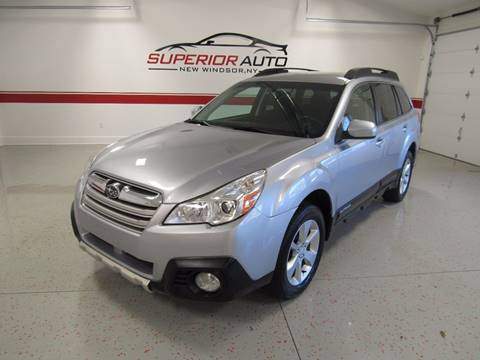 2013 Subaru Outback for sale at Superior Auto Sales in New Windsor NY