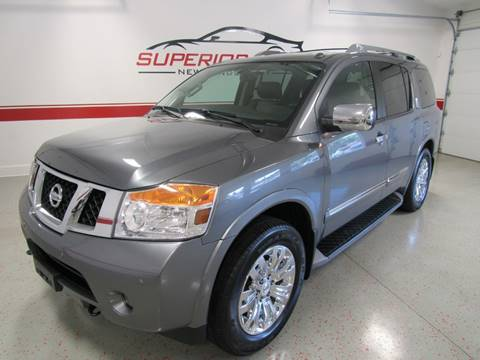 2015 Nissan Armada for sale at Superior Auto Sales in New Windsor NY
