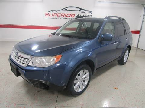 2011 Subaru Forester for sale at Superior Auto Sales in New Windsor NY