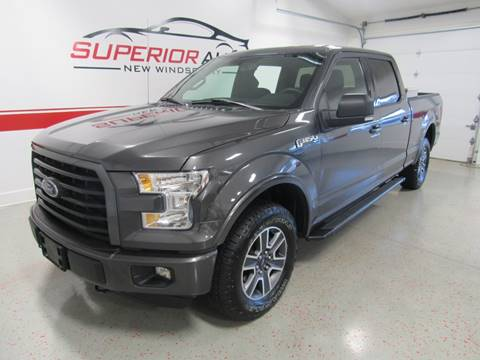 2015 Ford F-150 for sale at Superior Auto Sales in New Windsor NY