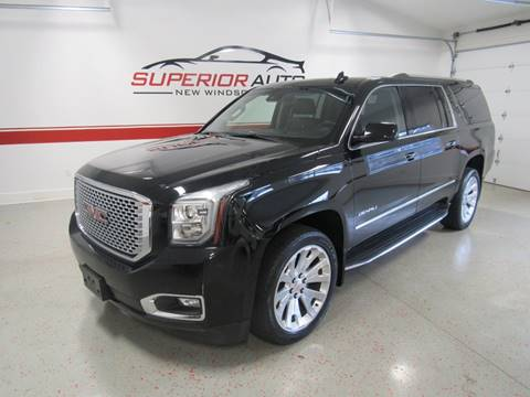 2016 GMC Yukon XL for sale at Superior Auto Sales in New Windsor NY